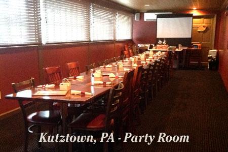 Kutztown Party Room